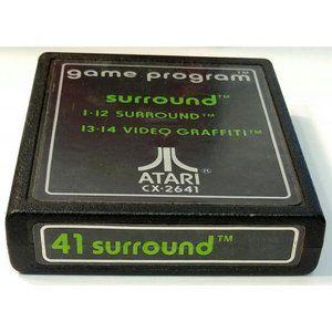 Atari 2600 41 Surround cx-2641 Vintage Video Game